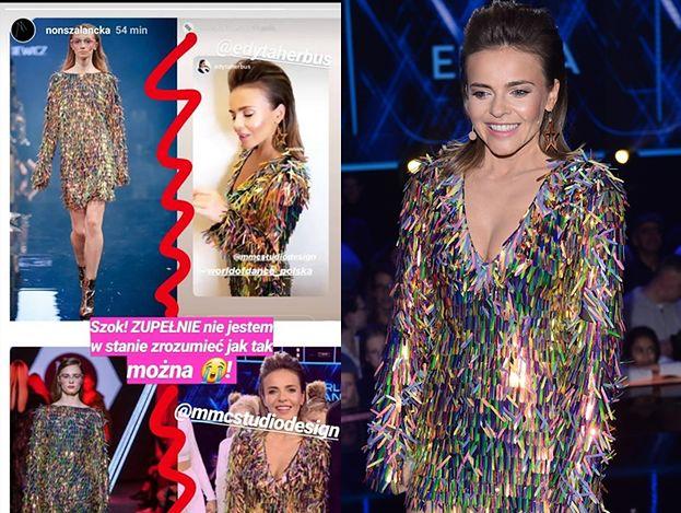 """MMC skopiowało sukienkę młodej projektantki?! Edyta Herbuś wystąpiła w niej w finale """"World of Dance""""..."""