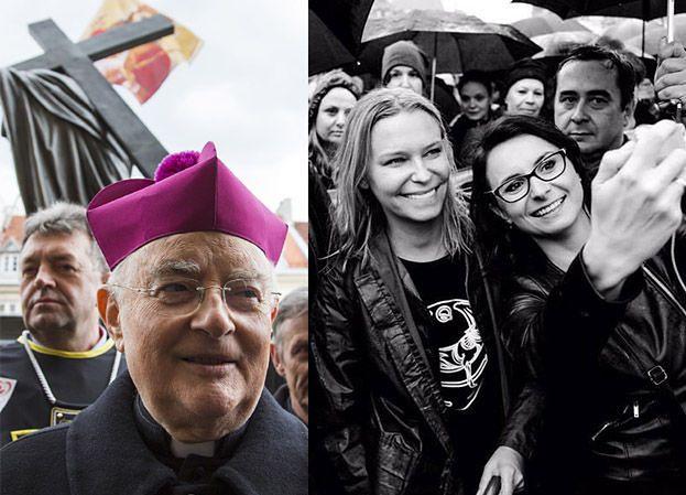 """Młynarska do arcybiskupa Hosera: """"Wychodzi na to, że gwałt jest formą dopuszczanej przez kościół antykoncepcji"""""""