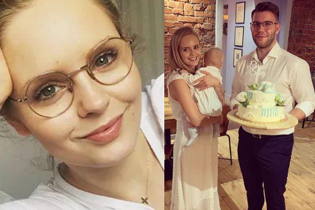 """Olga Kalicka ochrzciła synka. Fani: """"A WASZ ŚLUB KIEDY?"""""""