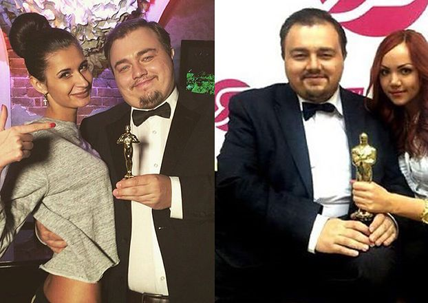 "Rosyjski ""sobowtór DiCaprio"" pomaga mu w zdobyciu Oscara! (FOTO)"