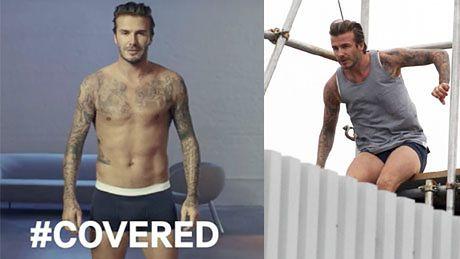 Beckham biega w samych majtkach!