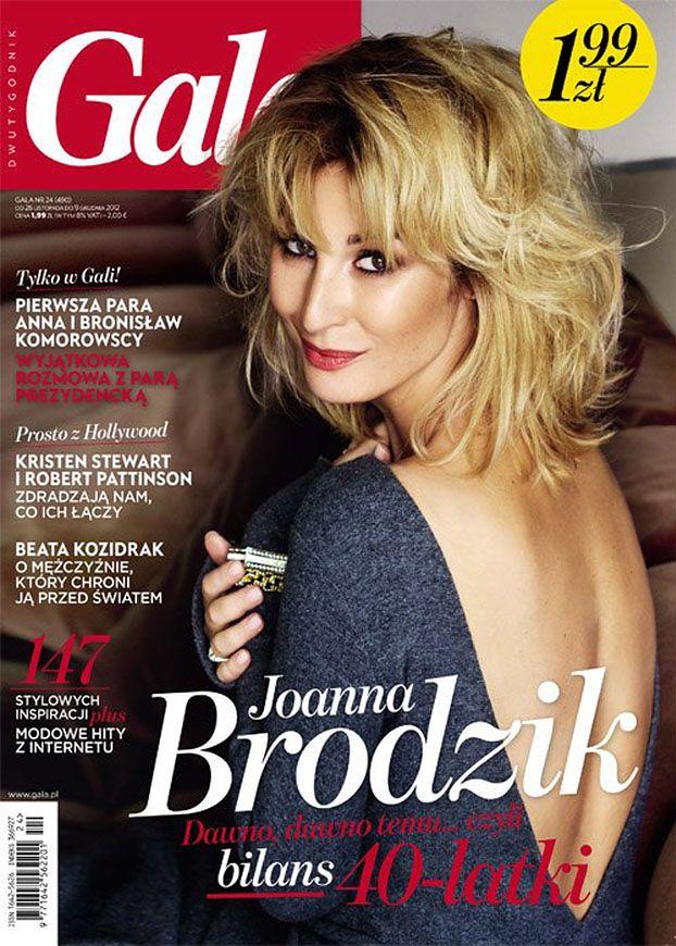 40-letnia Brodzik na okładce! (FOTO)