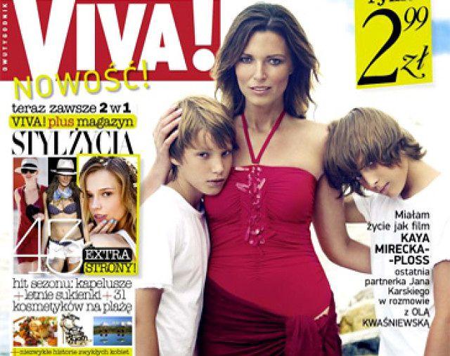 Felicjańska na okładce z synami! (FOTO)