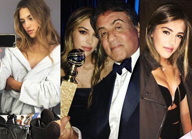 Córka Sylvestra Stallone'a też została modelką! (FOTO)