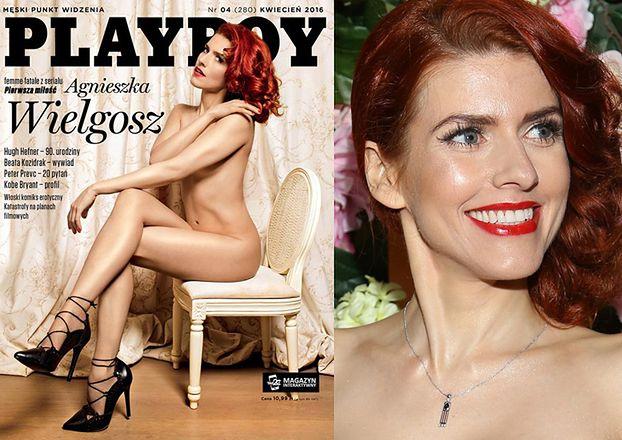 """Agnieszka Wielgosz na okładce Playboya: """"Chciałabym zagrać u Almodovara!"""" (ZDJĘCIA)"""