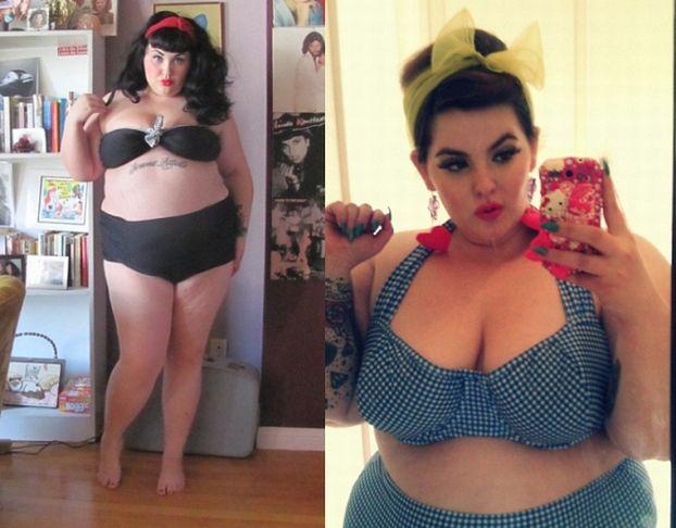 BARDZO PUSZYSTE modelki w bikini!