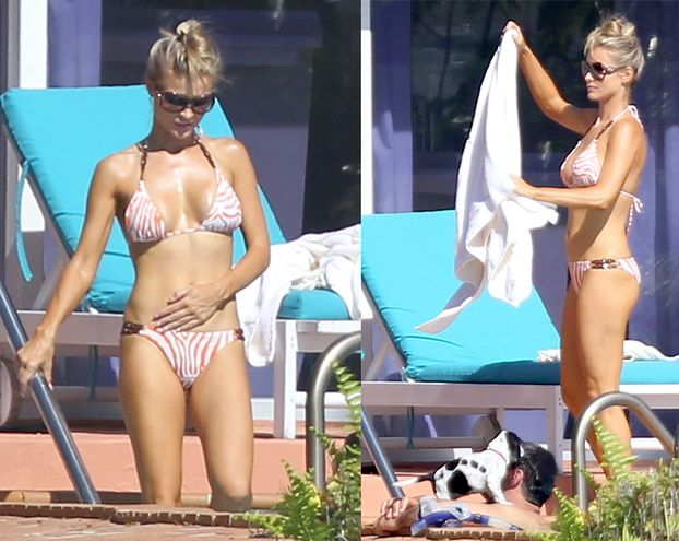 Krupa w bikini nad basenem! (ZDJĘCIA)