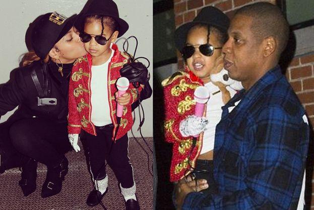 Beyonce i Jay-Z przebrali córkę... za MICHAELA JACKSONA! (FOTO)