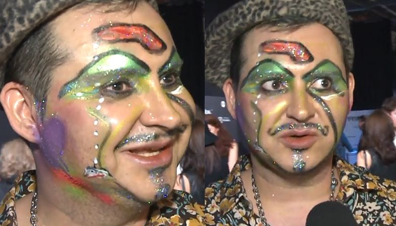 """Witkowski o swoim makijażu: """"Trzeba pokazać ch*ja!"""""""