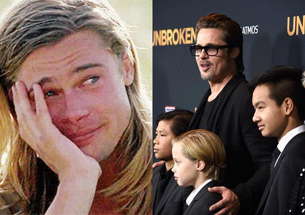 """Brad Pitt jest załamany rozwodem. """"JEST SAM I PŁACZE. Sytuacja całkiem go zaskoczyła"""""""
