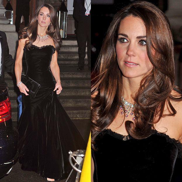 Kate Middleton w sukni od McQueena