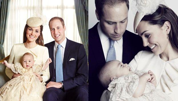 Polacy retuszowali zdjęcia Williama, Kate i Jerzego!