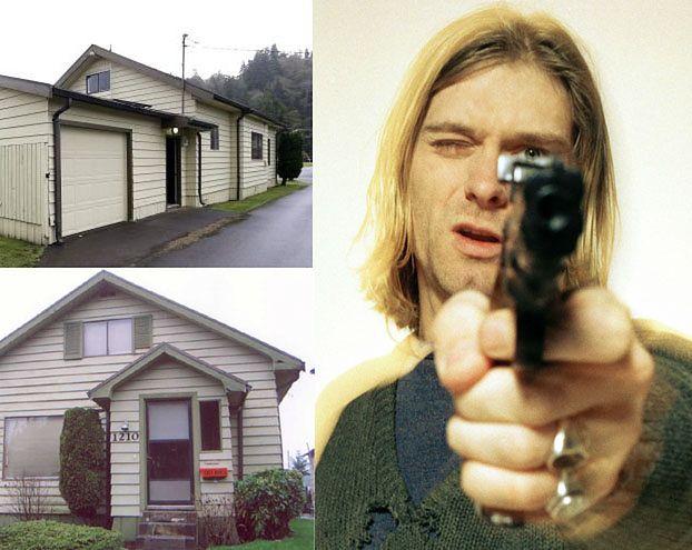 Rodzinny dom Kurta Cobaina NA SPRZEDAŻ! (Zdjęcia)