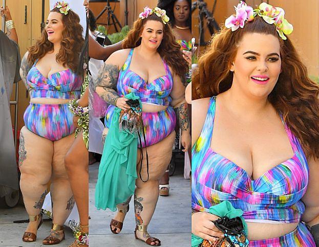 Tess Holliday miesiąc po porodzie w bikini (ZDJĘCIA)