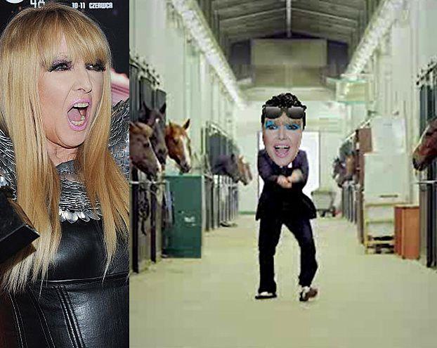 Rodowicz zatańczy... Gangnam Style! (WIDEO)