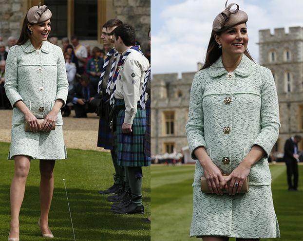 CIĄŻOWY BRZUSZEK Kate Middleton! (ZDJĘCIA)