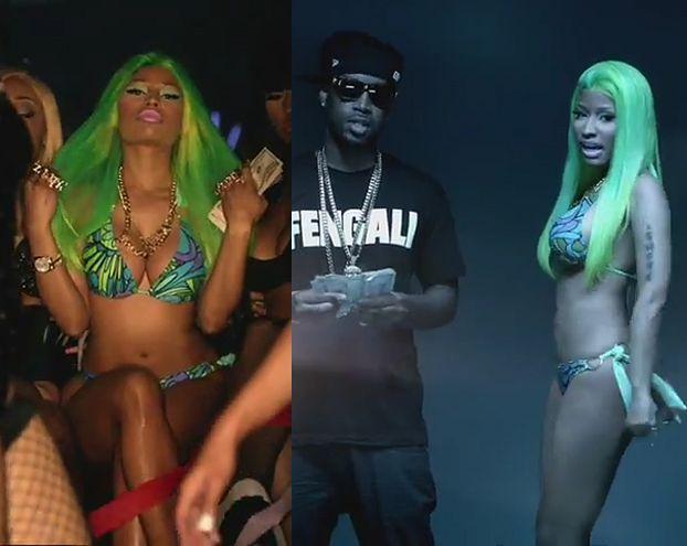 Nicki Minaj w bikini w nowym teledysku (ZOBACZ!)