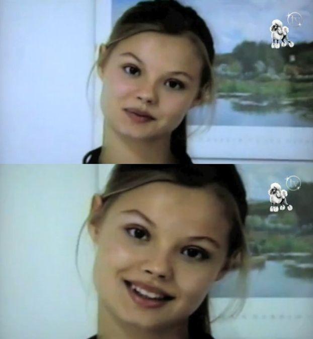 """""""Cudowne lata"""": 15-LETNIA Frąckowiak pierwszy raz przed kamerą!"""