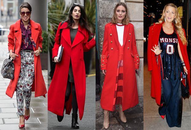 Gwiazdy pokochały czerwone płaszcze