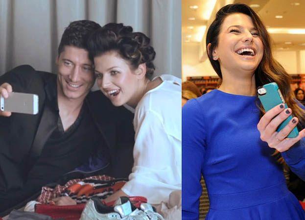 """Lewandowska: """"Lubię się chwalić mężem!"""""""