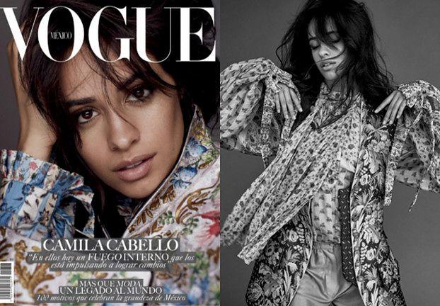 """Dziewczęca Camila Cabello w meksykańskim """"Vogue'u"""""""