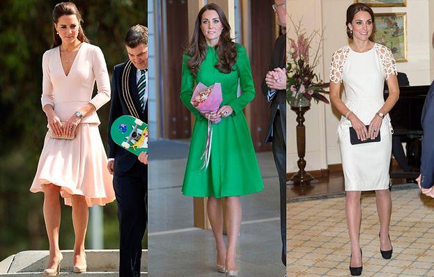 Kate Middleton w TRZECH KREACJACH w Australii! (FOTO)