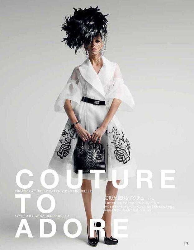 Anja w kreacjach haute couture Diora!