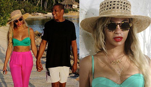 Beyonce znowu na wakacjach! (ZDJĘCIA + WIDEO)
