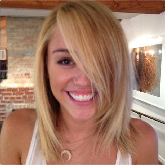 Miley BLONDYNKĄ!