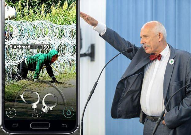 """Korwin-Mikke: """"Humor na weekend. Nowa gra """"Uchodźca GO"""""""""""