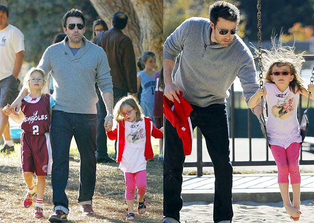 """Affleck o paparazzi: """"Moja córka bała się wyjść na spacer"""""""