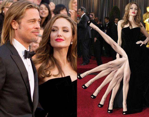 """""""Angelina nie interesowała się swoją nogą"""""""