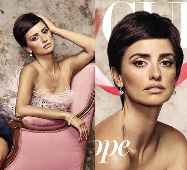 """Penelope Cruz w KRÓTKICH WŁOSACH w nowym """"Vogue'u""""!"""