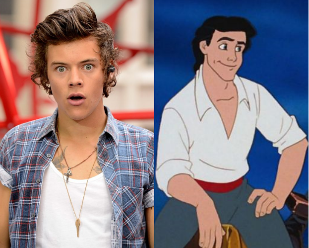 """Harry Styles jednak ODRZUCIŁ rolę w """"Małej Syrence""""!"""
