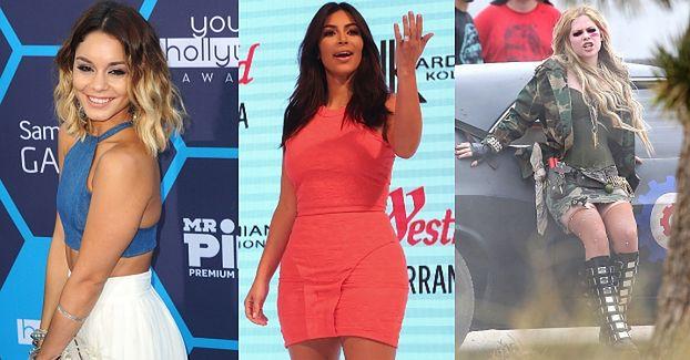 Wyciekły kolejne nagie zdjęcia gwiazd! Kardashian, Lavigne, Hudgens...