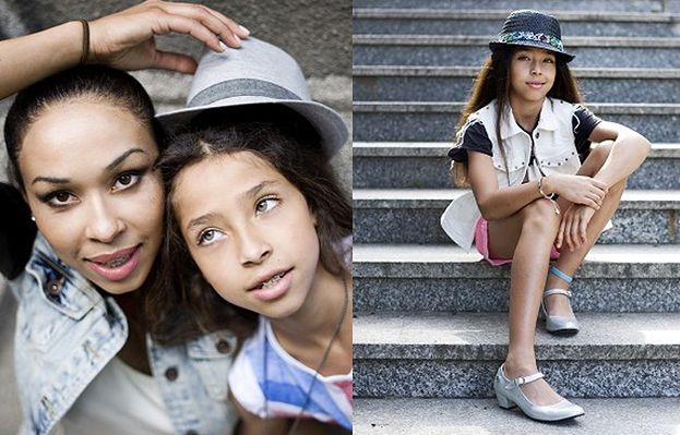 Córka Mensah została modelką!