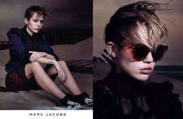 """""""Smutna"""" Miley w kampanii Marca Jacobsa! (FOTO)"""