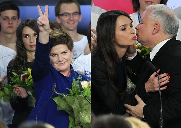 Kaczyńscy świętują wygraną PiS-u! (ZDJĘCIA)