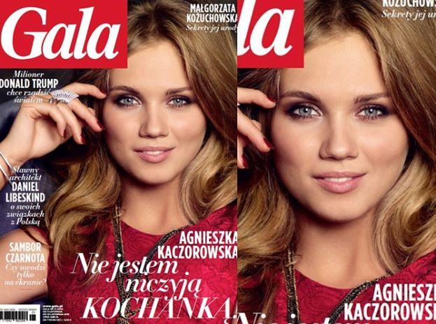 """Kaczorowska na okładce """"Gali"""": """"NIE JESTEM NICZYJĄ KOCHANKĄ!"""""""