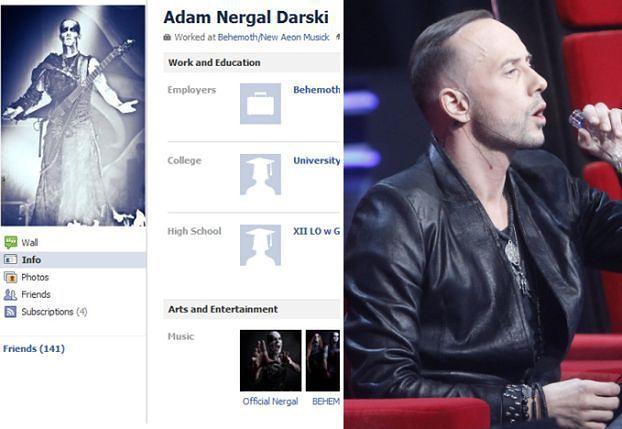 Nergal też usuwa profil z Facebooka!