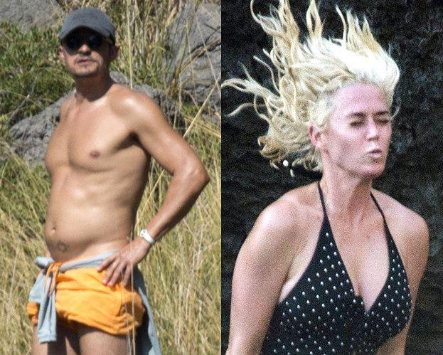Zrelaksowani Katy Perry i Orlando Bloom aktywnie wypoczywają na Majorce (ZDJĘCIA)