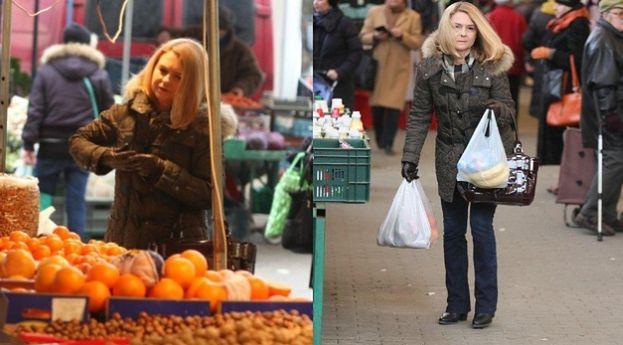 Małgorzata Tusk na przedświątecznych zakupach (ZDJĘCIA)