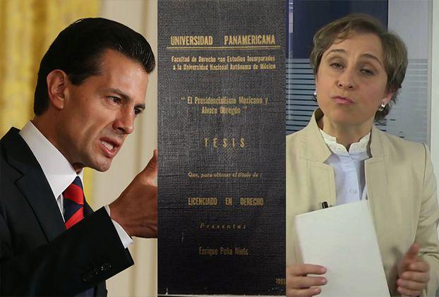 Prezydent Meksyku splagiatował pracę dyplomową!