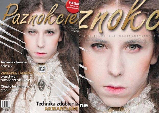 """Michał Szpak na okładce magazynu... """"PAZNOKCIE""""!"""