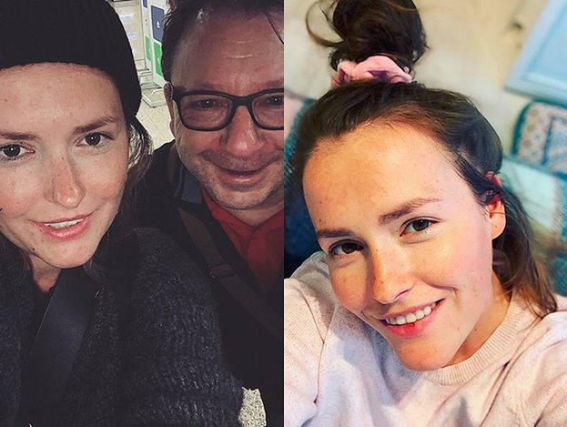 """Olga Frycz zachwyca się spotkaniem z Zamachowskim: """"Nieśmiało poprosiłam o selfie"""""""