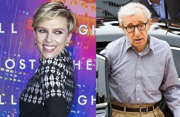"""Scarlett Johansson broni Woody'ego Allena: """"Dowiódł swojej niewinności"""""""