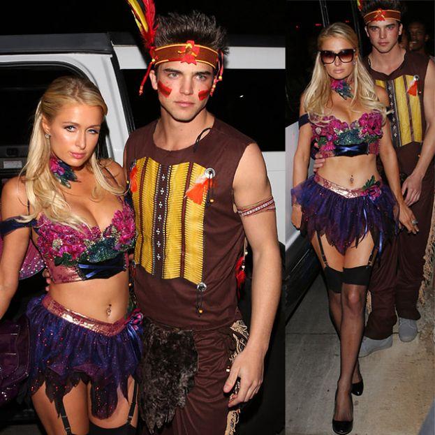 Paris Hilton na Halloween: SEKSOWNA WRÓŻKA?