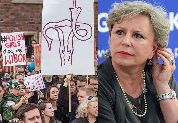 """Janda u Olejnik: """"Przecież NIKT NIKOGO NIE ZMUSZA DO ABORCJI! W szpitalu koło mnie kobieta urodziła bardzo kalekie dziecko..."""""""