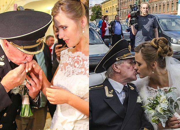 84-letni rosyjski aktor poślubił... 24-latkę! (FOTO)