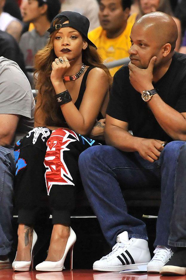 Rihanna BEZ STANIKA na meczu!